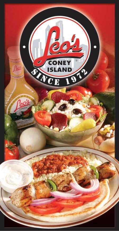 Leo S Coney Island Menu Catering
